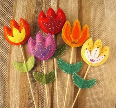Поделка тюльпаны - 4 идеи для подлки