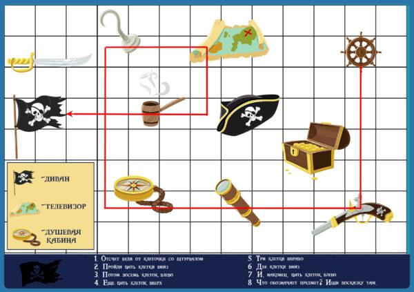 Ответ к одному из заданий пиратского квеста