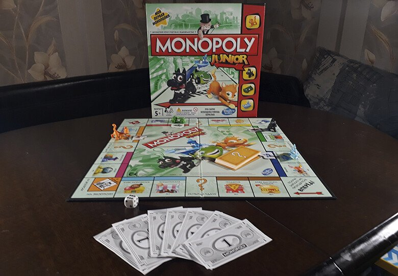 Monopoly Junior от Hasbro