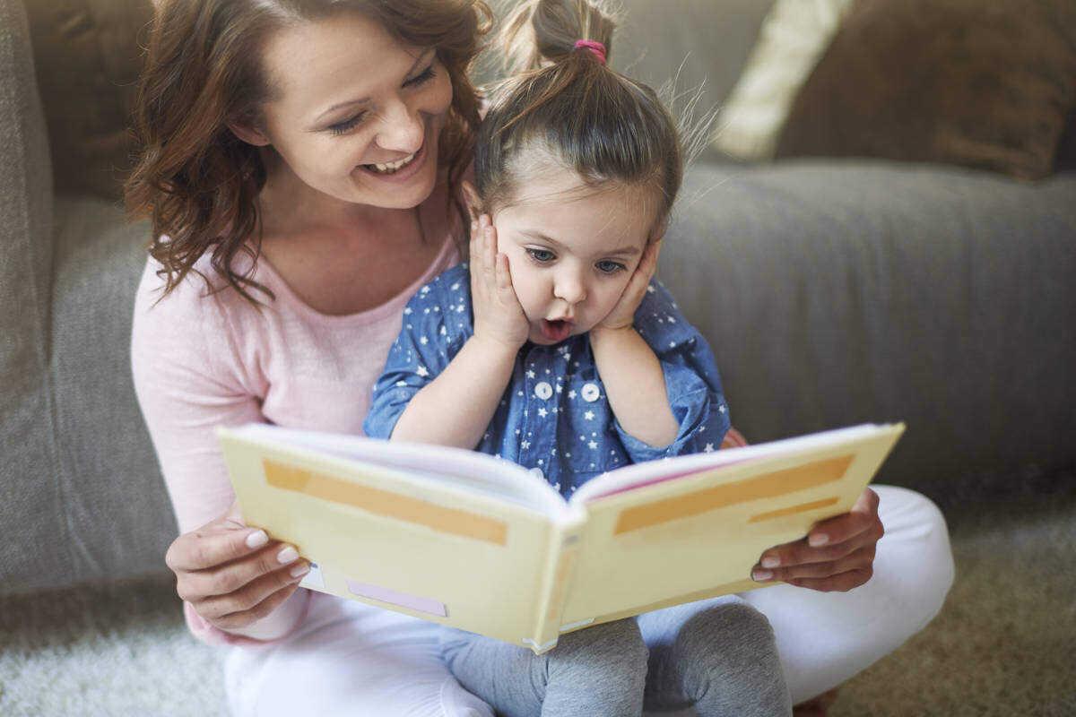 Читаем любимую сказку ребенка