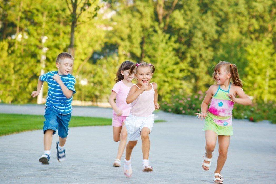 Подвижные игры на улице для детей
