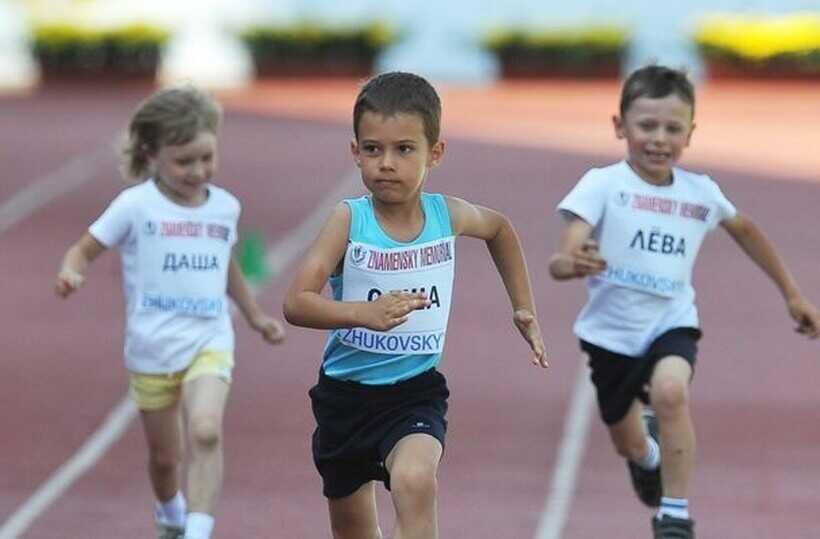 Соревнование для детей по легкой атлетике