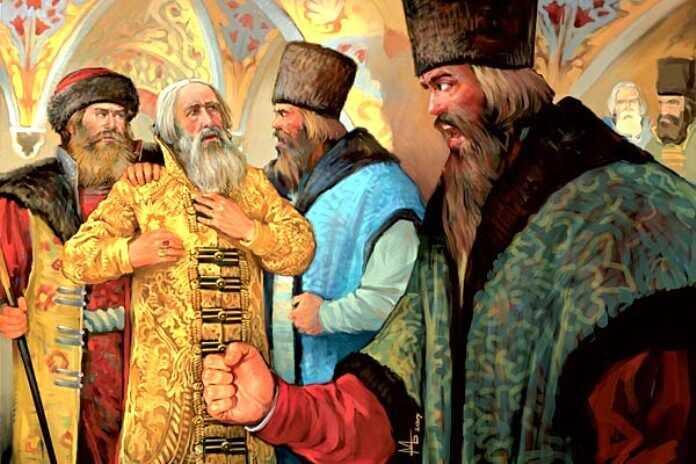 День народного единства. Заговор бояр