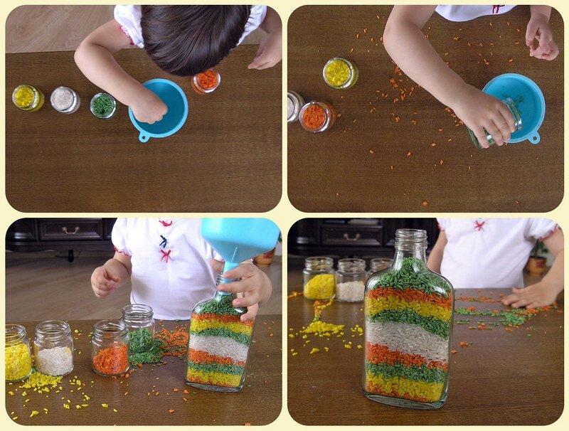Делаем разноцветные специи