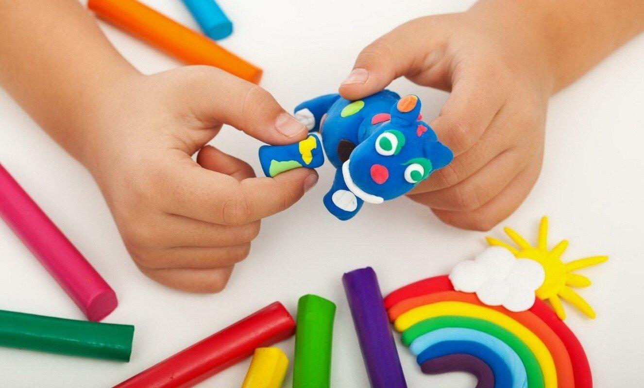 Игры с пластилином для детей