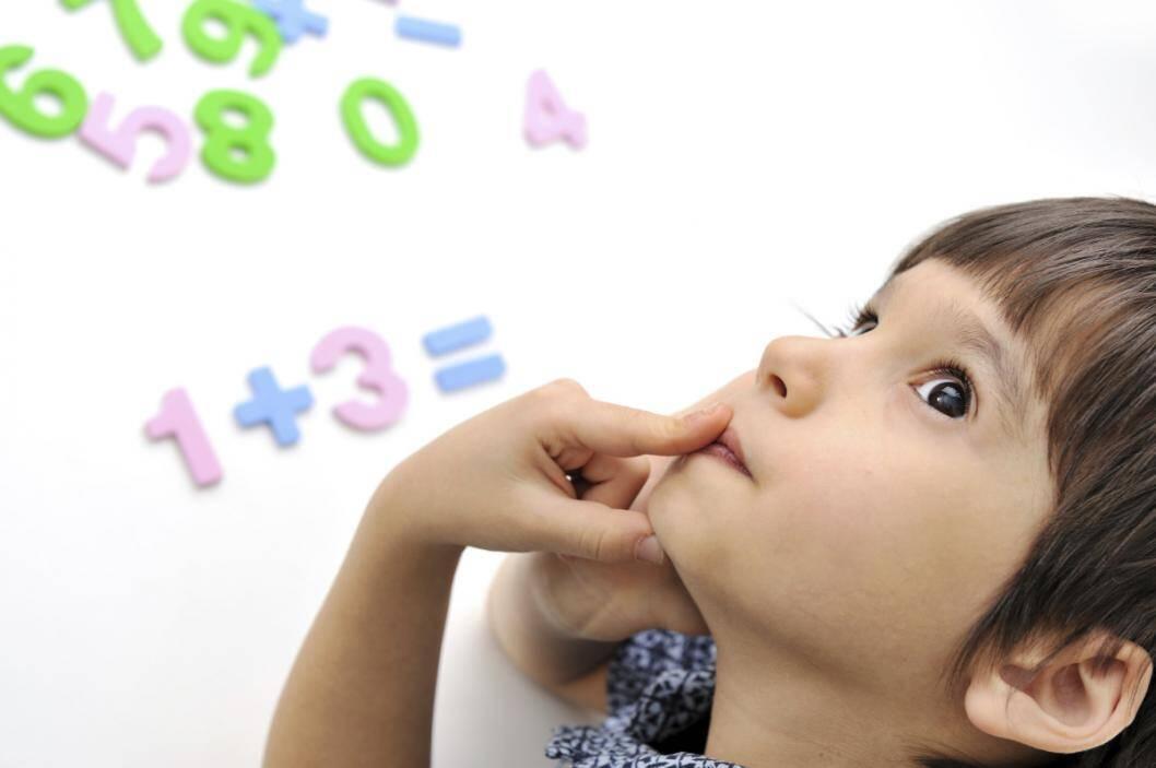 Первые примеры по математике