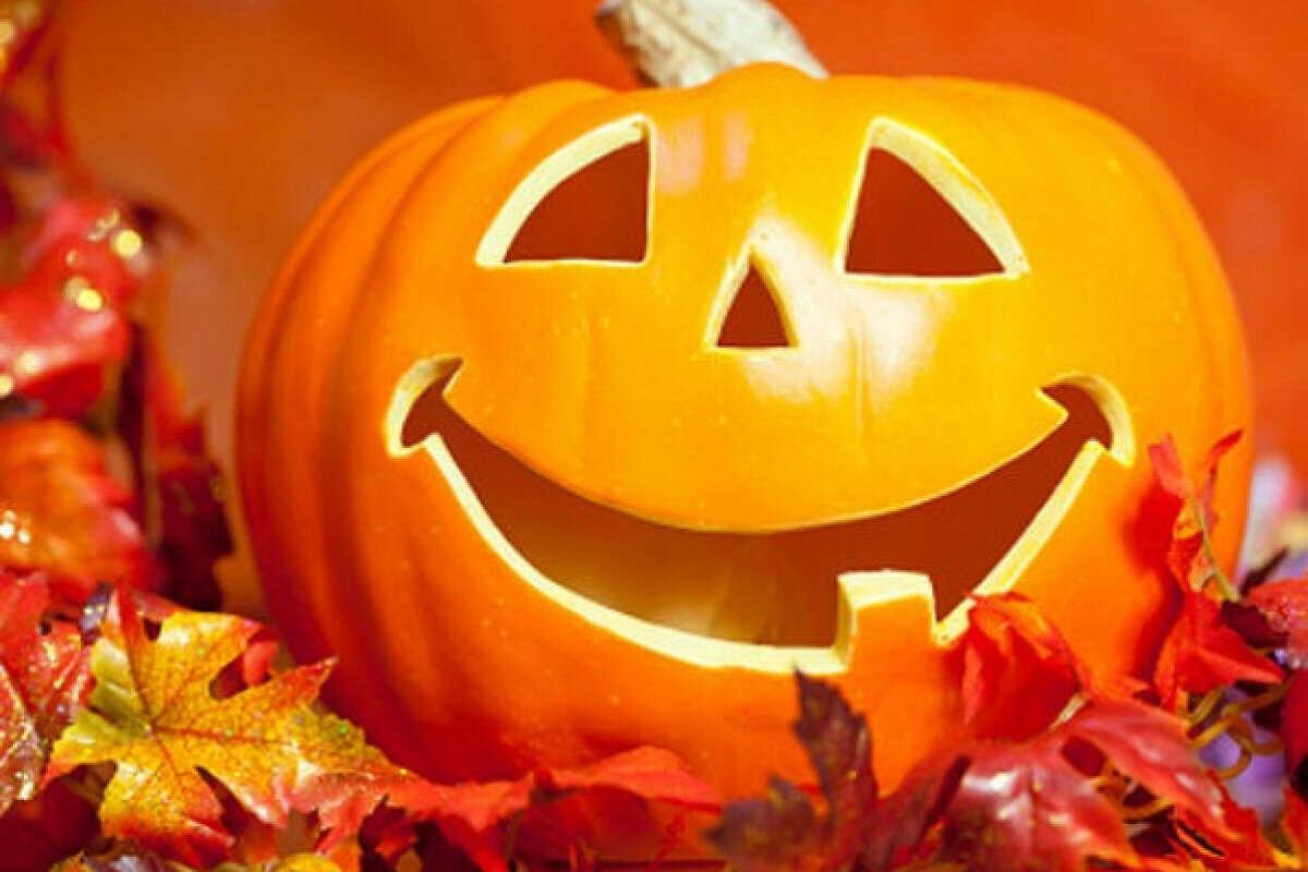 Тыква на Хэллоуин для детей