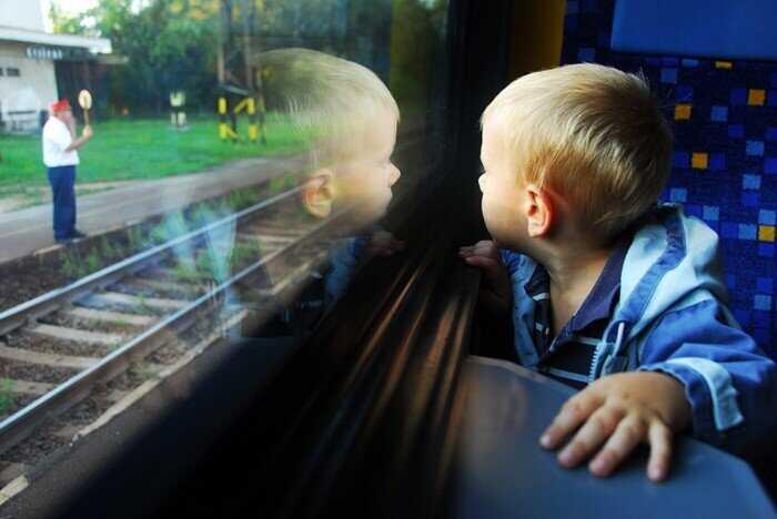 Весёлое путешествие с детьми