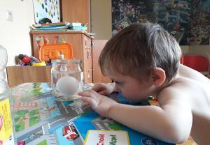 Яйцо в уксусе дома