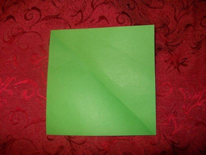 Оригами. Делаем квадрат