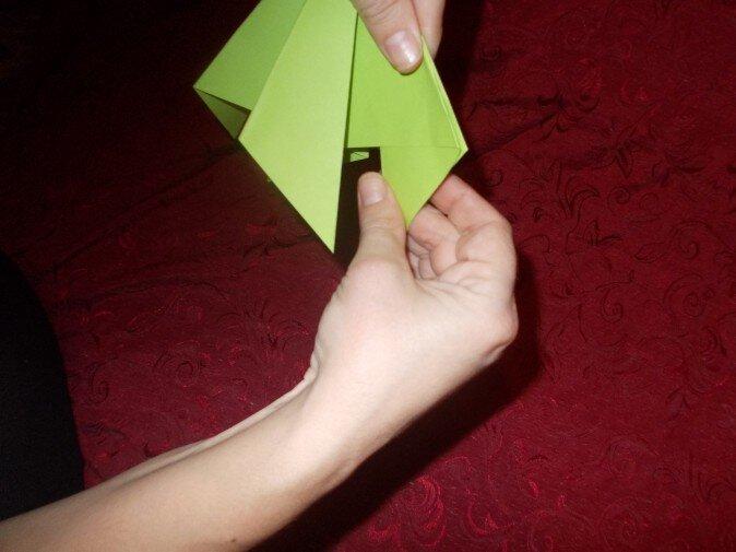 Оригами. Из одной грани получаем две