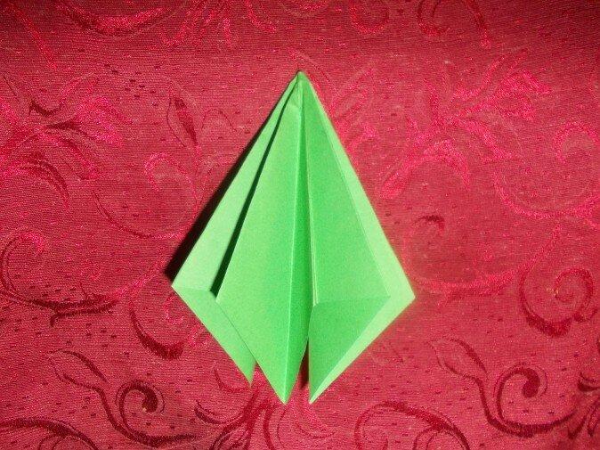 Оригами. Получаем восемь граней