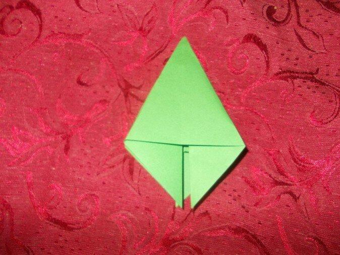 Оригами. Отрезаем концы