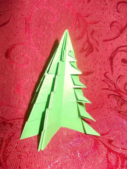 Оригами. Отгибаем концы