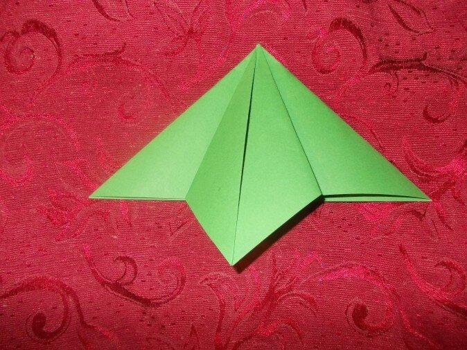 Оригами. Сгибаем вторую грань