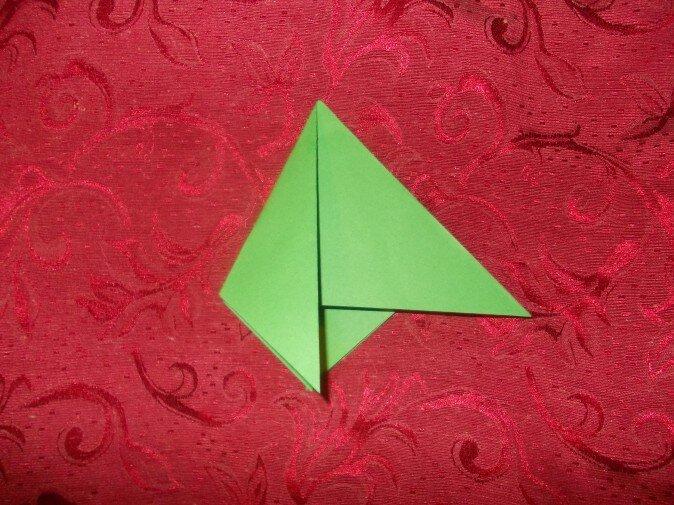 Оригами. Сгибаем третью грань