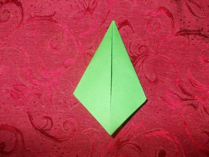 Оригами. Сгибаем четвертую грань