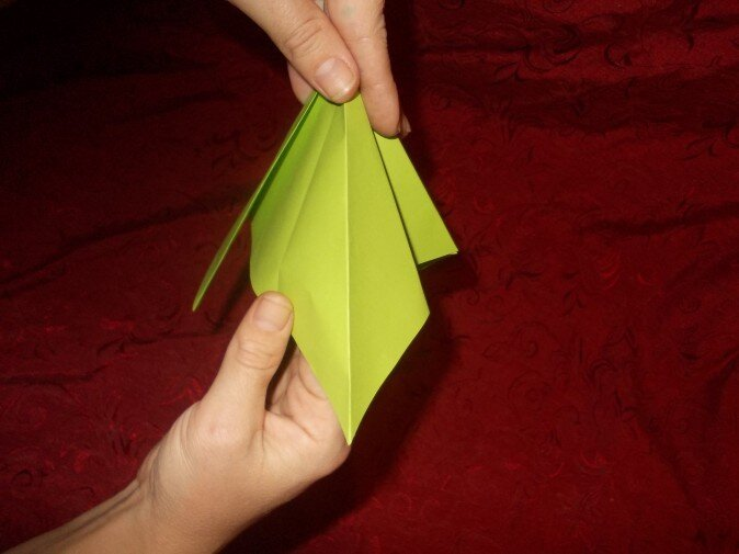 Оригами. Разгибаем грань