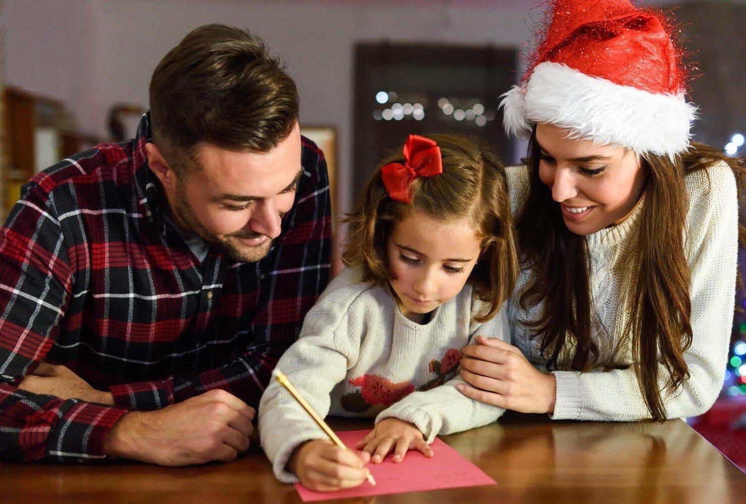 Что написать в письме Деду Морозу