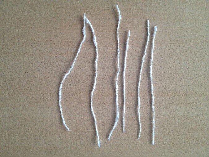 Бумагопластика. Делаем жгутики