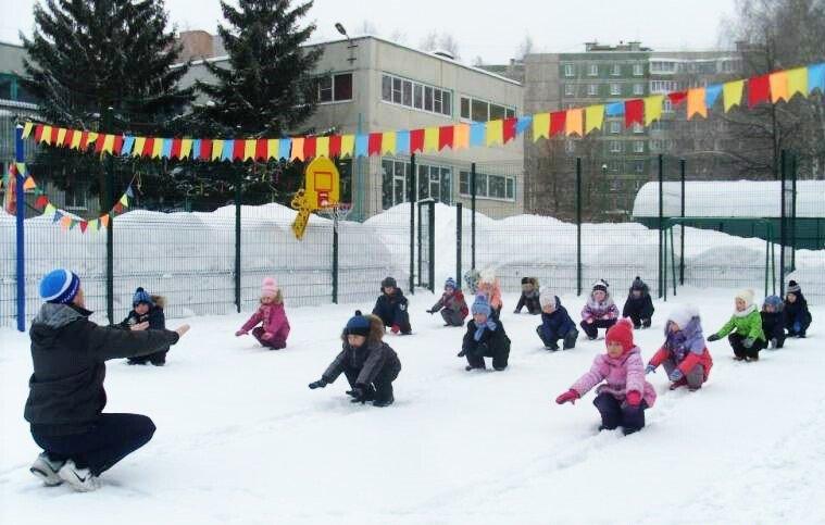 Зимние физкультминутки. Как звери от холода спасались