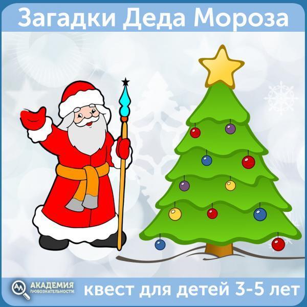 Загадки Деда Мороза