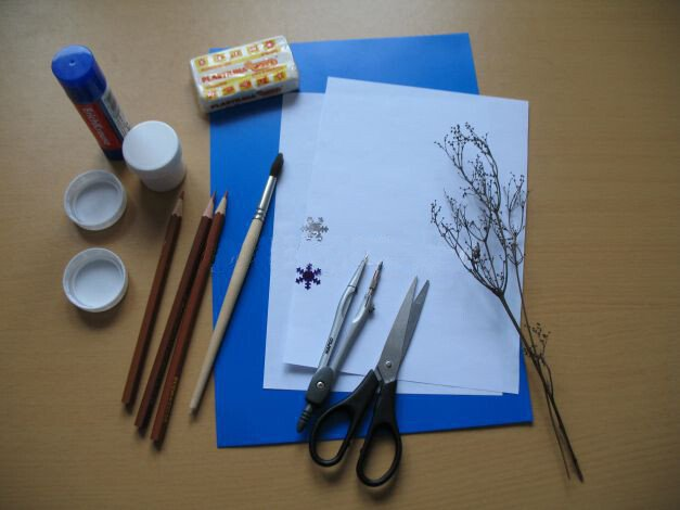 Материалы для поделки из бумаги