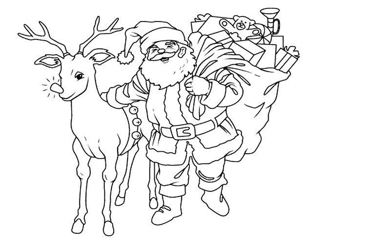 Новогодняя вытынанка своими руками Дед мороз