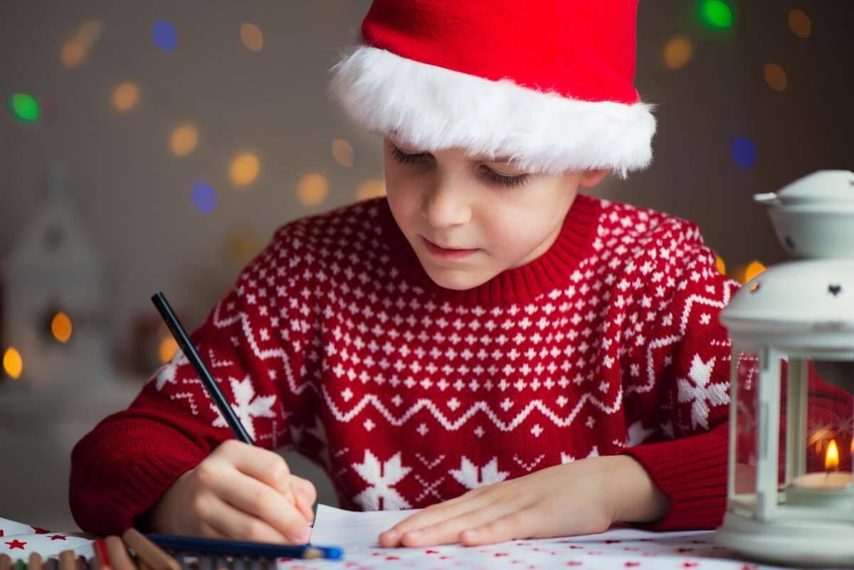 Образец письма Деду Морозу