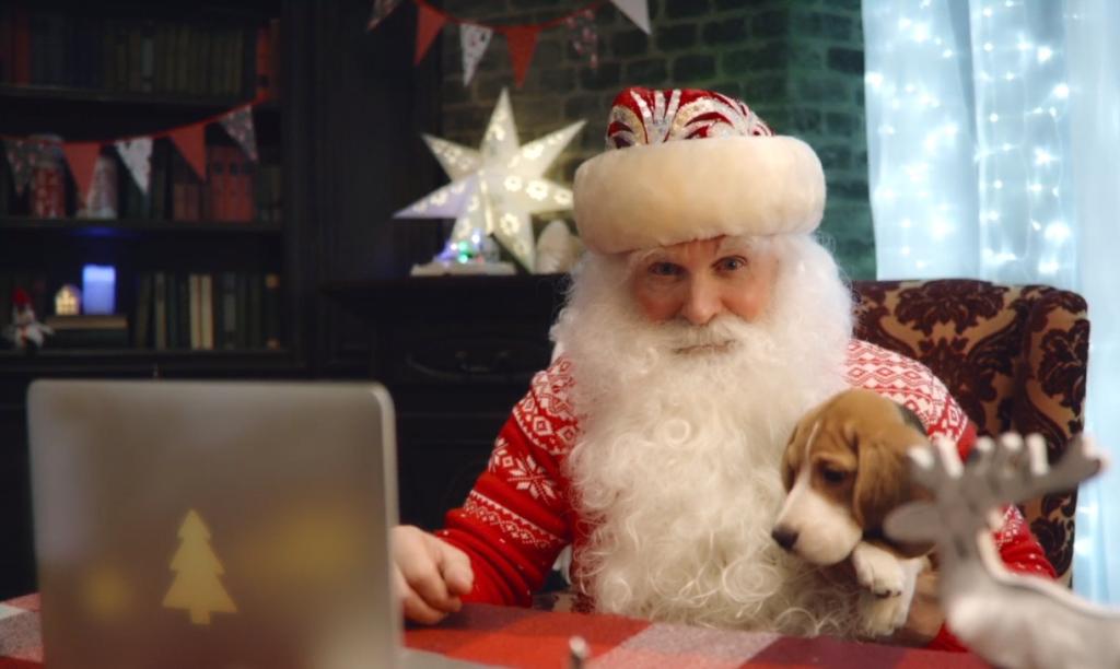 Видеопоздравление для ребёнка от Деда Мороза