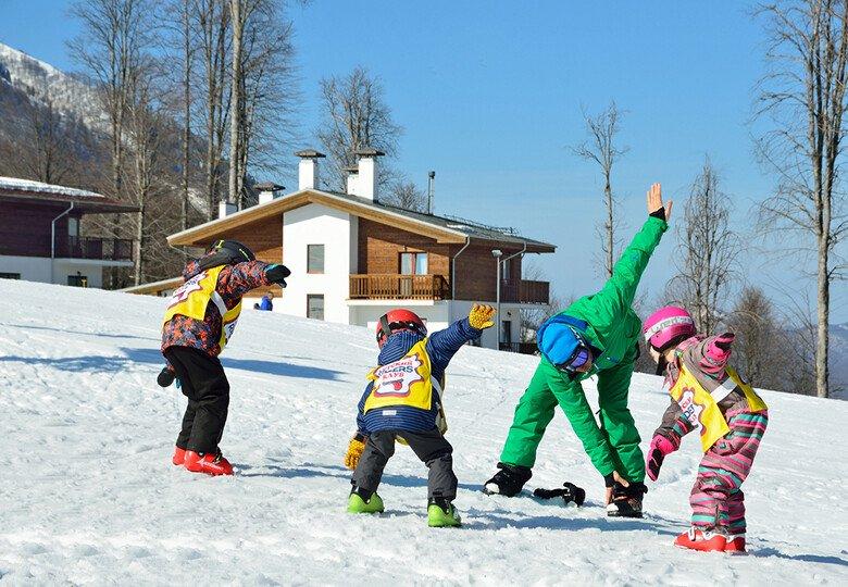 Зимние физкультминутки для детей