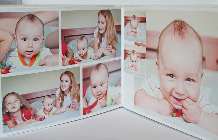 Подарок на день рождения: фотокнига для малыша