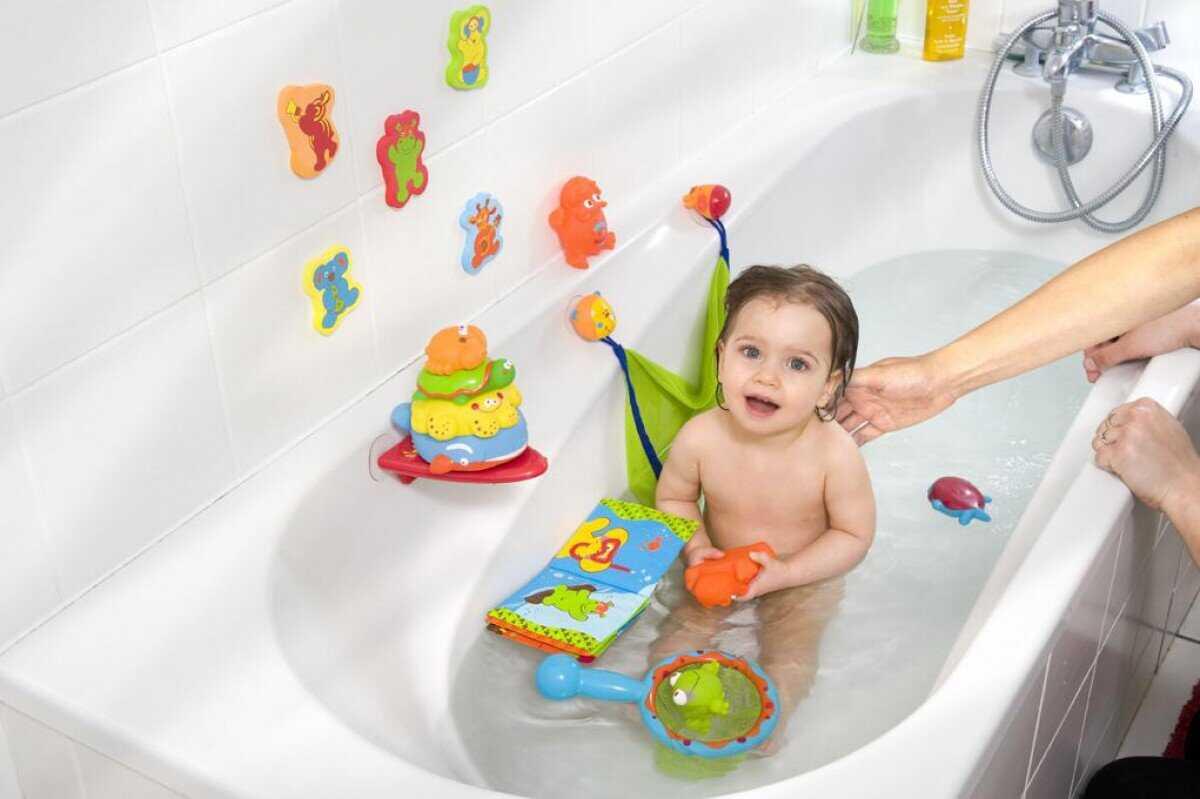 Игрушки для ванной для ребёнка