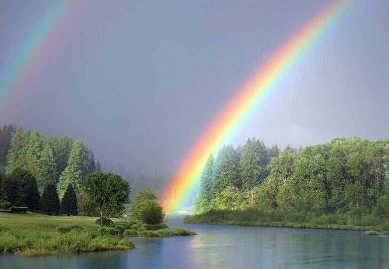 Откуда берётся радуга