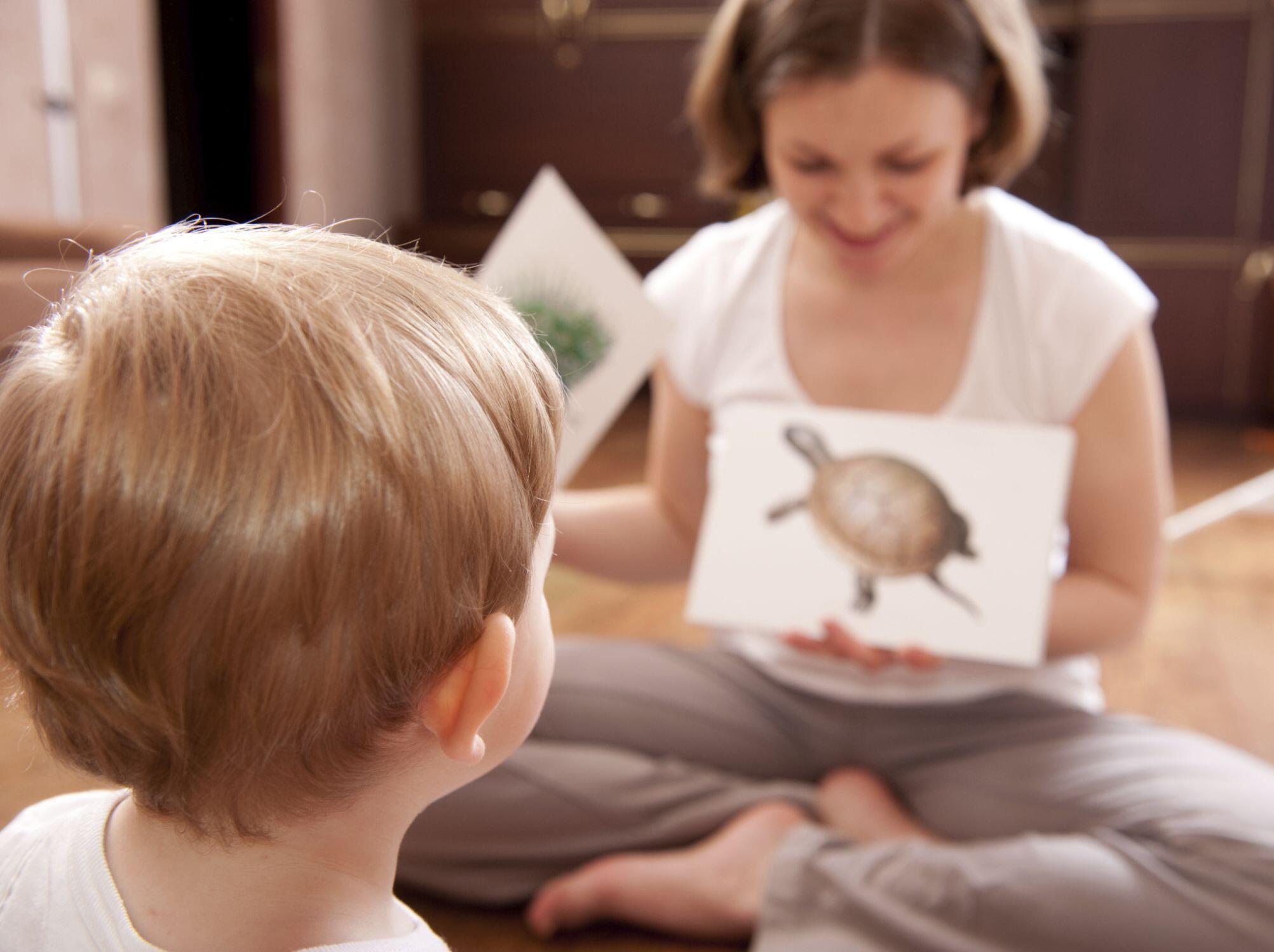 Игра с карточками для детей 5-6 лет