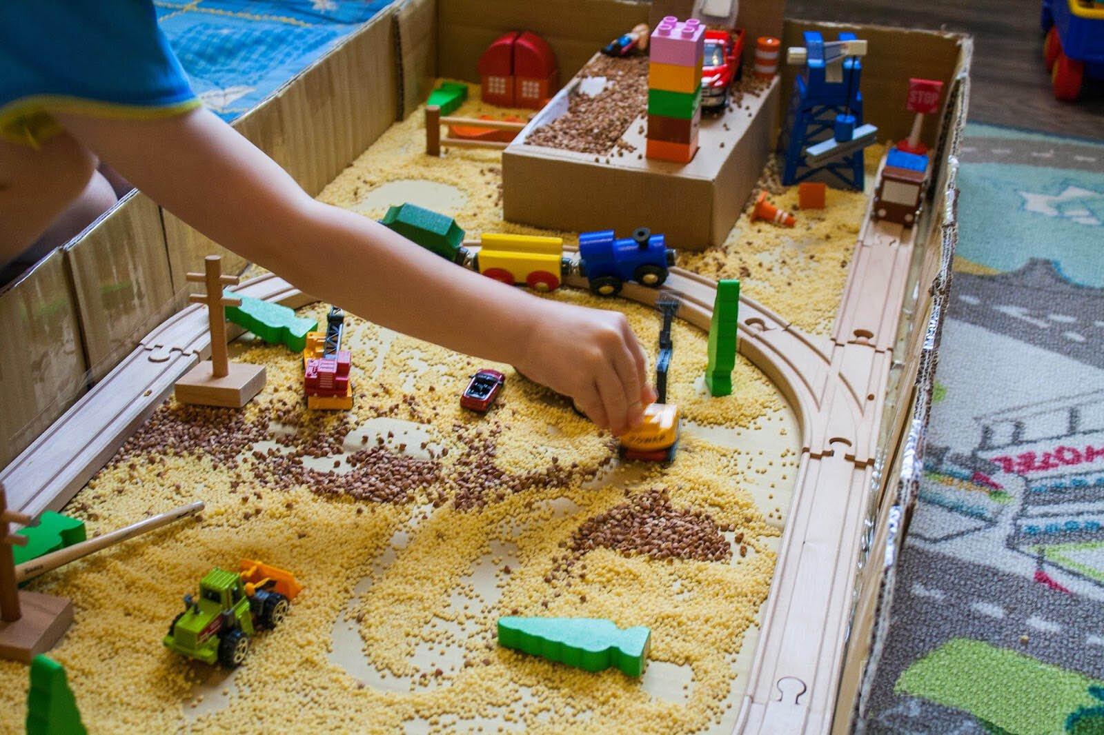 Игры с крупами для детей 6-7 лет