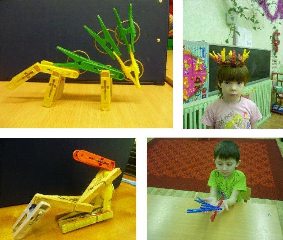 Игры с прищепками для детей 6-7 лет