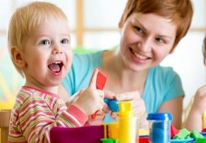 Лепка из пластилина для малышей