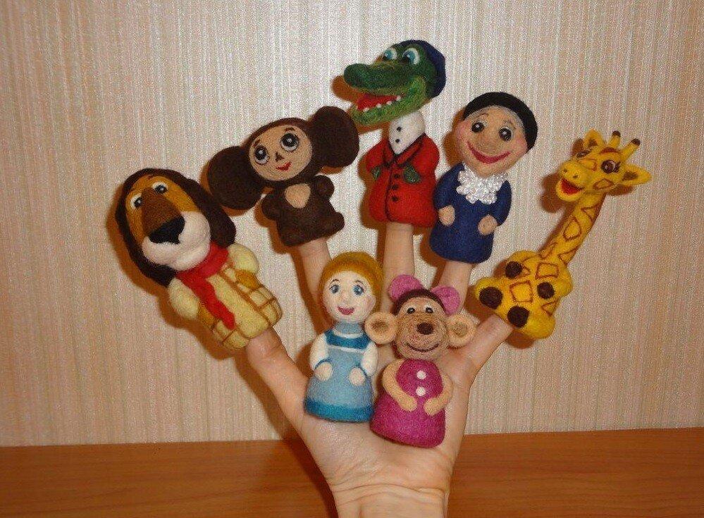 Пальчиковый театр для детей 6-7 лет