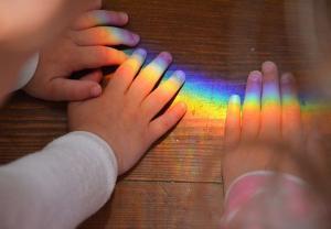 Радуга для детей дома