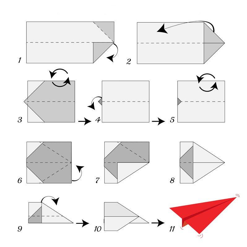 Оригами Самолёт
