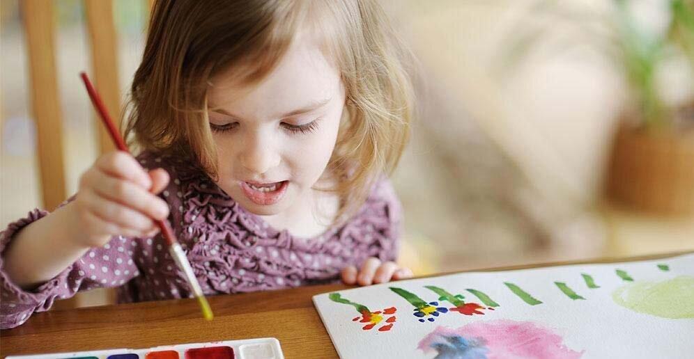 Как ребенок располагает рисунок. Анализ