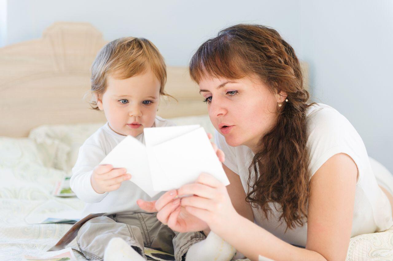 Карточки для развития речи у детей 1-2 года