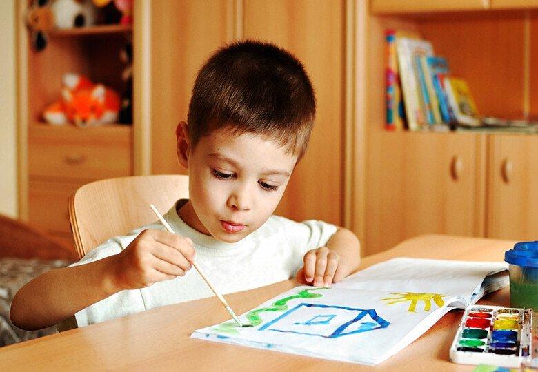 Рисуем с детьми 4-5 лет дома