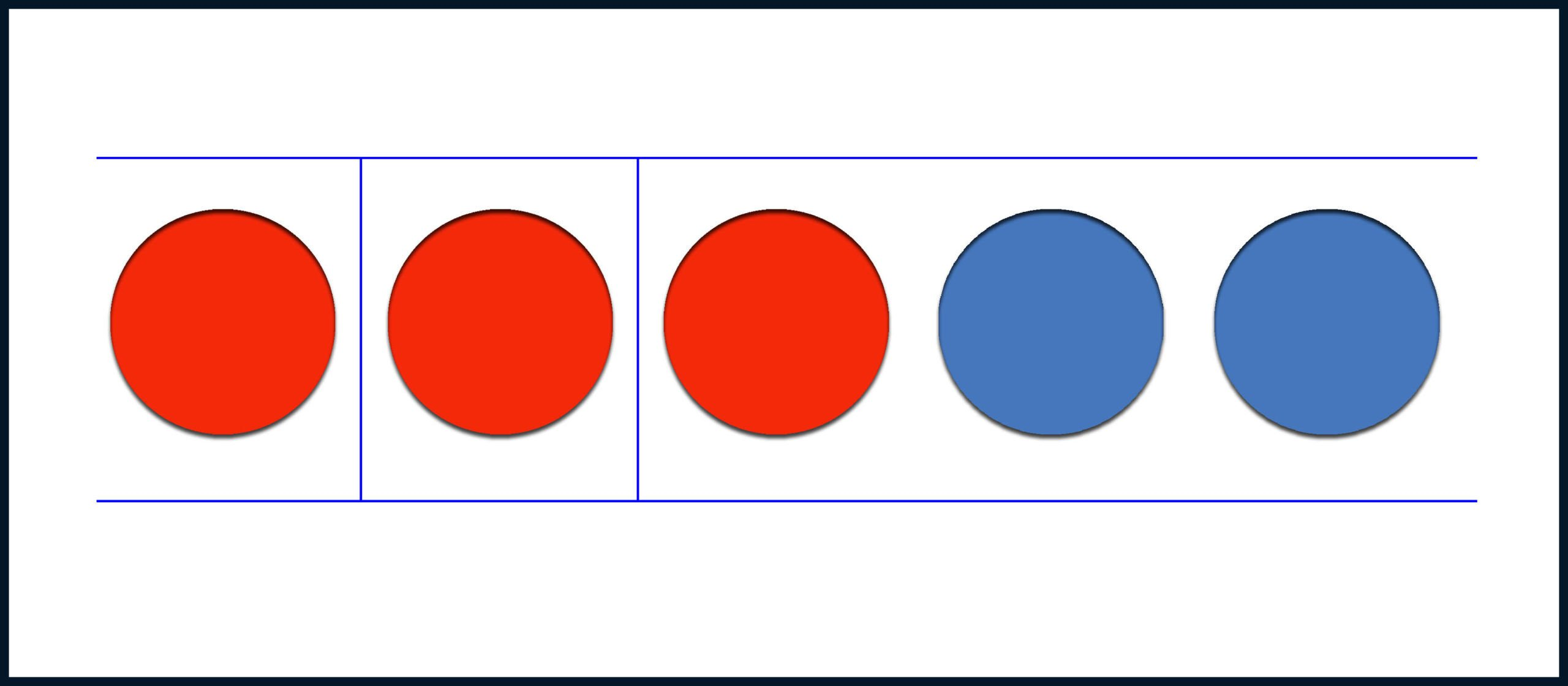 Осталось три красных круга
