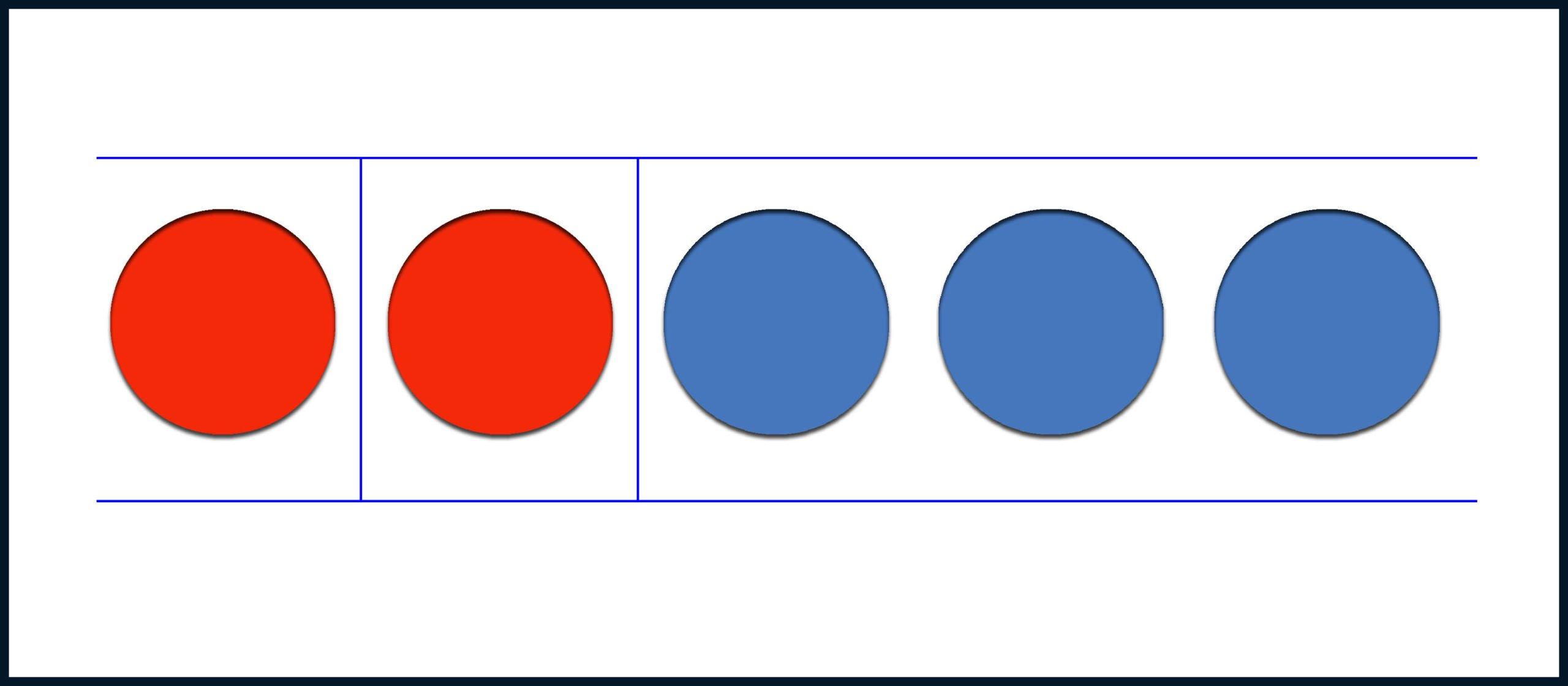 Осталось два красных круга
