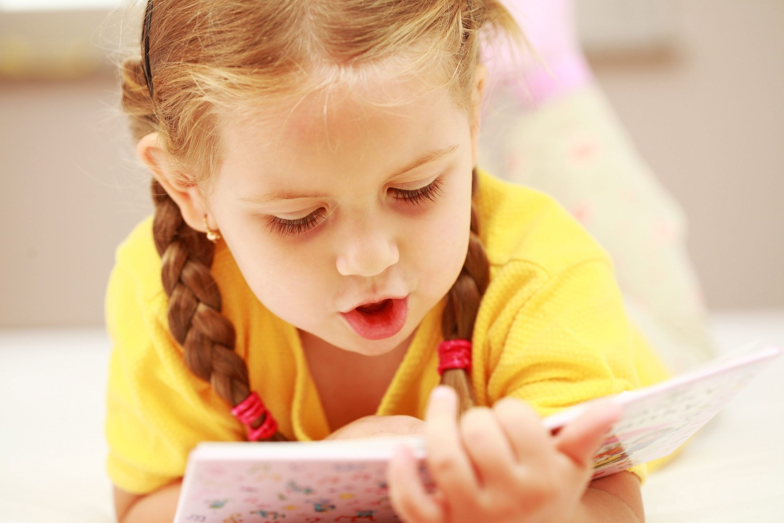 Учимся читать слоги с ребёнком 5-7 лет