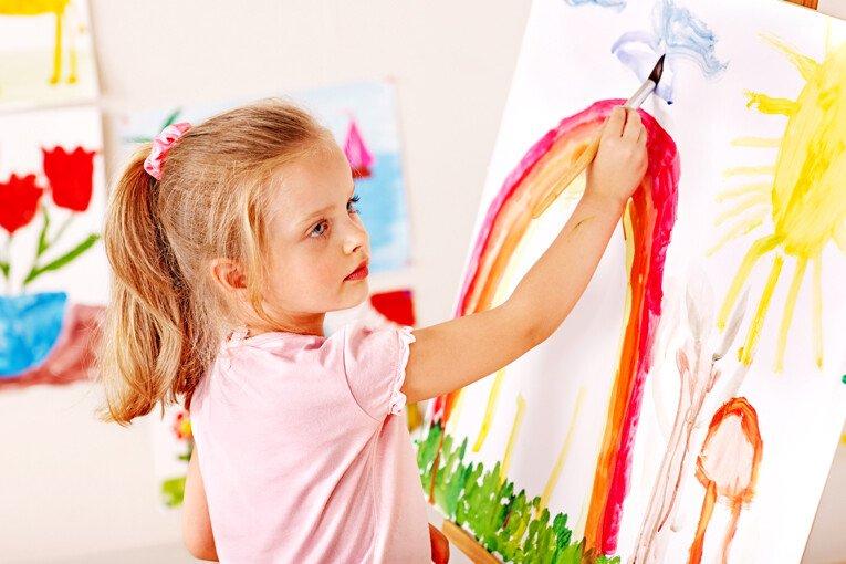 Анализ цвета детского рисунка