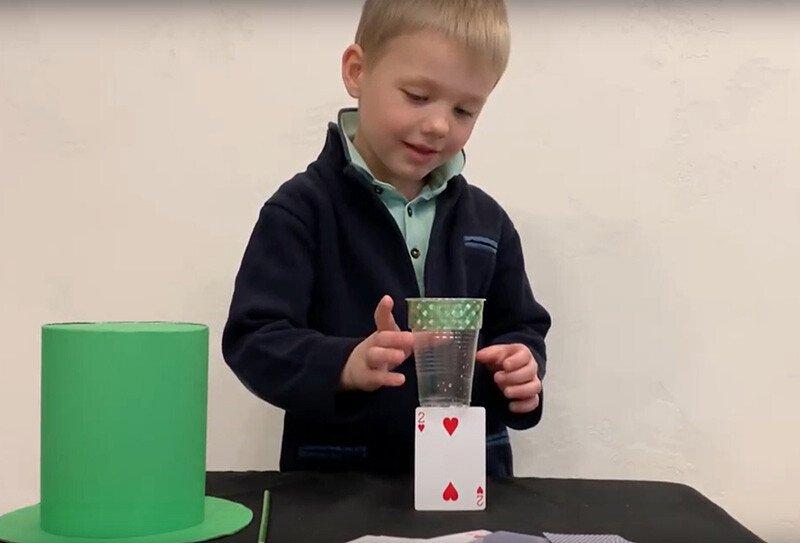 Фокус для детей Антигравитационный стакан
