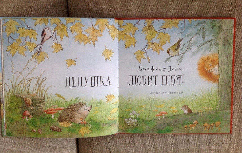 Книга для детей Джеймс Фостер Дедушка любит тебя